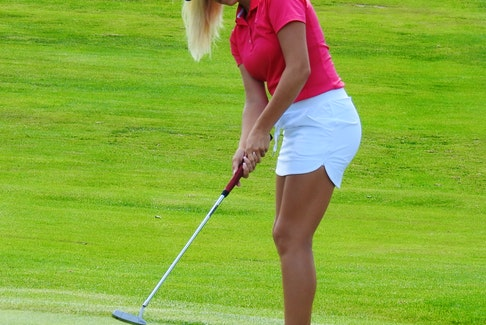 Ashburn's Abbey Baker, 16, will be in the field at this week's NSGA women's amateur and senior championship at Clare Golf and Country Club. - Golf Canada