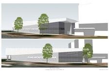 Rendering of new Dalhousie Event Centre. - Dalhousie University