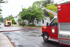 New Glasgow Fire Department responded to this structure fire on Nelson Street at 7:21 a.m. June 23.