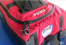 Emergency Medical Services and Cape Breton Regional Police are asking the public for help locating this bag which went missing in Sydney sometime Sunday evening. The bag contains medications dangerous if used by those who are not trained medical professionals. CONTRIBUTED