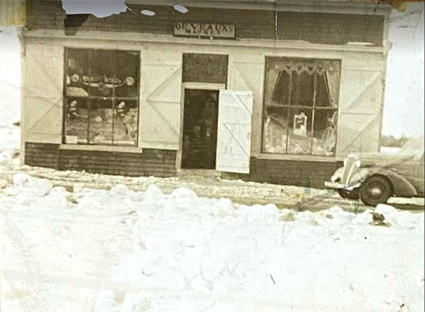 The Deveaux General Market in 1938, owned by Paul Brown's grandparents Mitch and Jenny Deveaux. Paul Brown said his entire family roots come from New Victoria. It's why the area is so important to him, he said. Brown said a relative lives here now. CONTRIBUTED - Sharon Montgomery