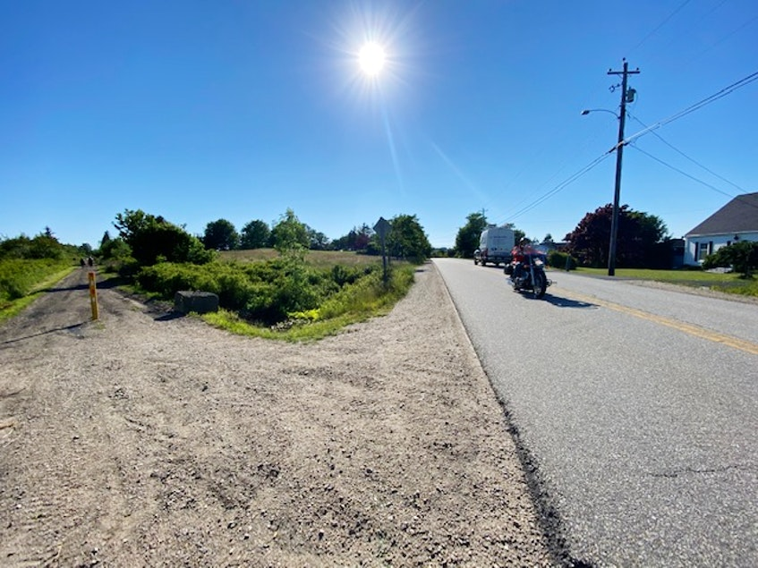 The Municipality of Yarmouth is planning a sidewalk connection from where the rail trail crosses the Greenville Road to the Hwy.#1intersection.CARLA ALLEN • TRICOUNTY VANGUARD