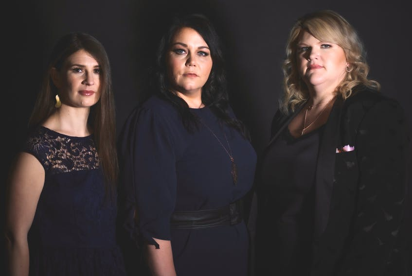 """Local country music trio Ladylike are (from left) Carole Bestvater, Terri Lynn Eddy and Karla Pilgrim. They've just released their first single, """"Princess Charming."""""""