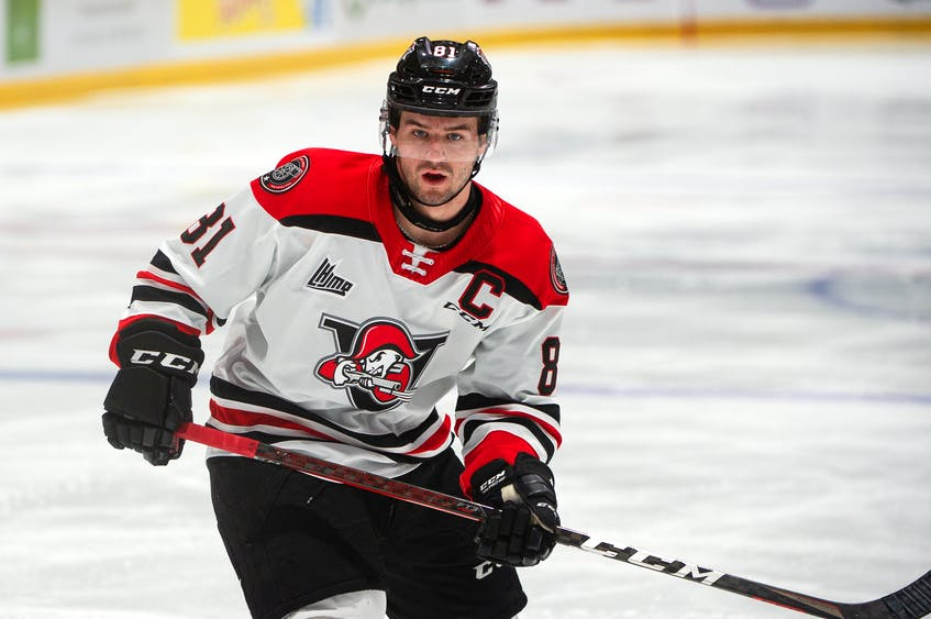 Xavier Simoneau has played the first four seasons of his junior career with the Drummondville Voltigeurs. He was acquired by the Charlottetown Islanders on Wednesday, June 23.   - Drummondville Voltigeurs • Special to The Guardian
