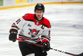 Xavier Simoneau has played the first four seasons of his junior career with the Drummondville Voltigeurs. He was acquired by the Charlottetown Islanders on Wednesday, June 23.