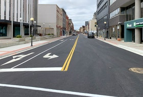 The City of St. John's says Phase IV of the Water Street Infrastructure Improvement Project from Clift's-Baird's Cove to Job's Cove/Prescott Street is complete a few days ahead of schedule.