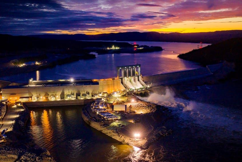 The Muskrat Falls Generating Facility.