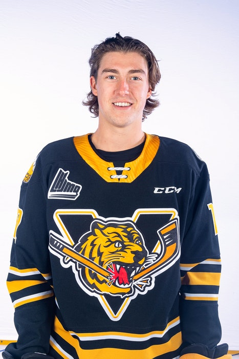 Defenceman Sean Larochelle was acquired by the Cape Breton Eagles from the Victoriaville Tigres on Wednesday. CONTRIBUTED - Contributed