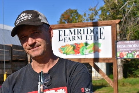 Elmridge Farm owner Greg Gerrits says clean technology innovations have led to many successes on their third and fourth generation vegetable farm. FILE PHOTO