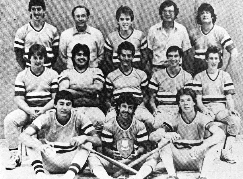 The Windsor Warlords were named the 1986 provincial AA fastball champions. Windsor Regional High School beat Musquodoboit Rural High School by a score of 6-1 to claim the title. Pictured are, from left, back row: Barrie Lowthers, coach Ian MacMillan, Chuck Ross, coach Mike Whyman, and Andrew Cochrane; middle row: Mike Yeaton, Shawn Maguire, Danny Castillo, Russell Burgess, and Sean Skelhorn; front row: Darren Whynott, Sheldon States, and Andy Wallis. - File Photo
