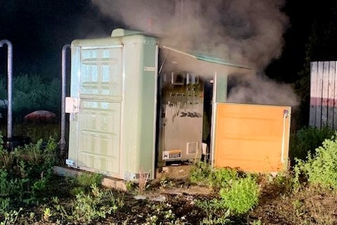 Fire at one of the Grand Falls-Windsor pumping stations on June 21 sparked police investigation.