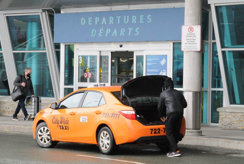 City Wide Taxi is a lot less busy these days at St. John's International Airport.