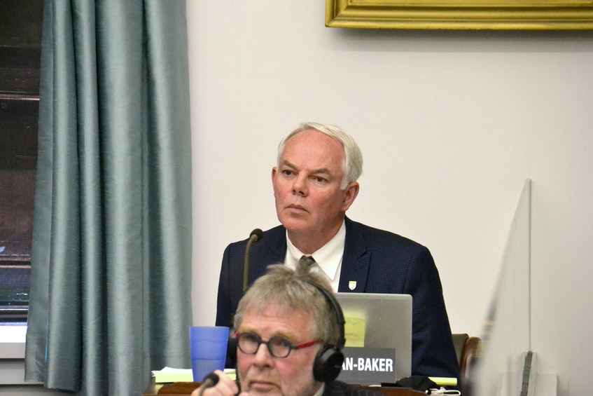Opposition Leader Peter Bevan-Baker asked how long it will take to collect the necessary data on all of P.E.I.'s watersheds before an irrigation strategy is completed. Stu Neatby • The Guardian - Stu Neatby