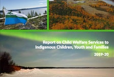The cover of a report released Thursday by the provincial government.