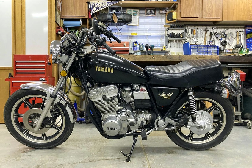 Nicknamed the Unicorn by owner Michael Rogalski, there are several unique features of the 1979 Yamaha XS750 that set it apart from other models of the era, such as a kickstarter (rare for a late 1970s machine with a 750cc engine), three cylinders, shaft rear drive and vacuum-operated gas petcocks. Contributed/Michael Rogalski - POSTMEDIA