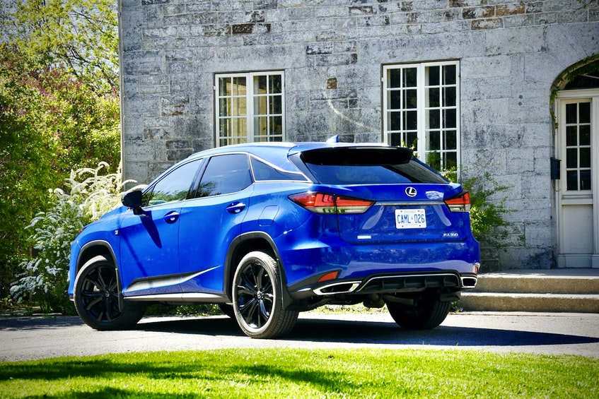The 2021 Lexus RX 350's power is delivered neatly, though, with no glaring rush of exuberance. Postmedia News - POSTMEDIA
