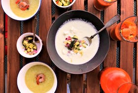 Saltwire foodie Mark DeWolf recommends chill soups as a light appetizer for summer dining.