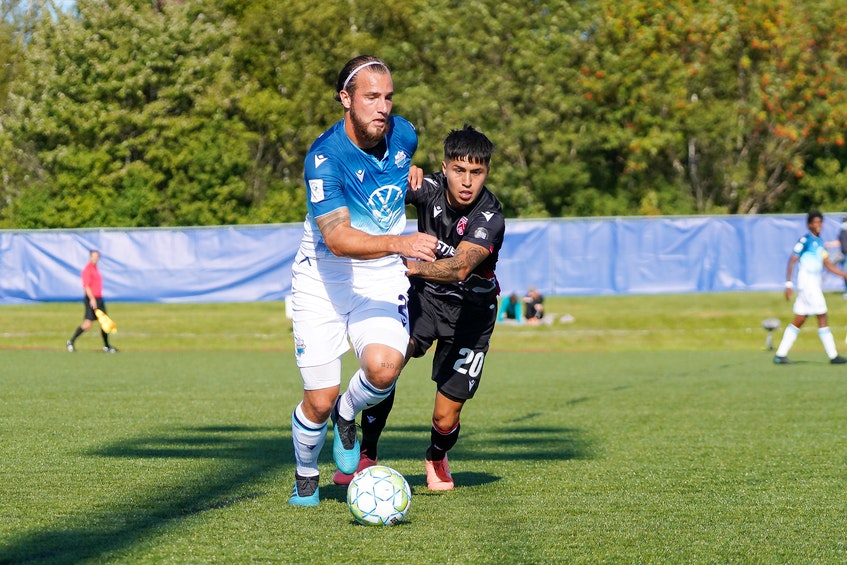 Former Cape Breton Capers defender Peter Schaale and the HFX Wanderers FC of Halifax will kick off the 2021 Canadian Premier League season today in Winnipeg. CONTRIBUTED - Contributed