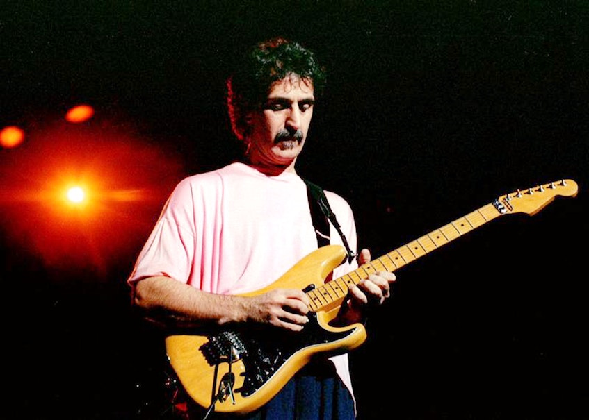Frank Zappa — Reuters file photo