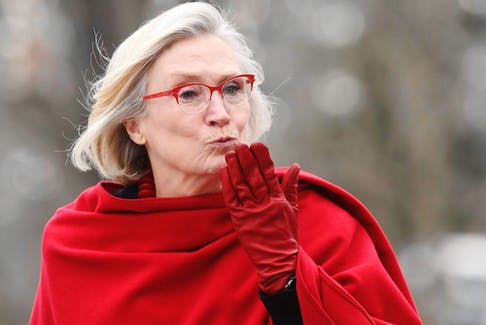 Crown-Indigenous Minister Carolyn Bennett at the cabinet swearing-in ceremony in Ottawa on Wednesday, Nov. 20, 2019. THE CANADIAN PRESS/Adrian Wyld ORG XMIT: JFJ514