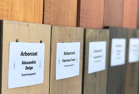 Planning to stain your deck, porch or fence? Be sure to consider the wood's type and age before settling on a stain's opacity and colour. - Photo Courtesy of The Paint Shop.