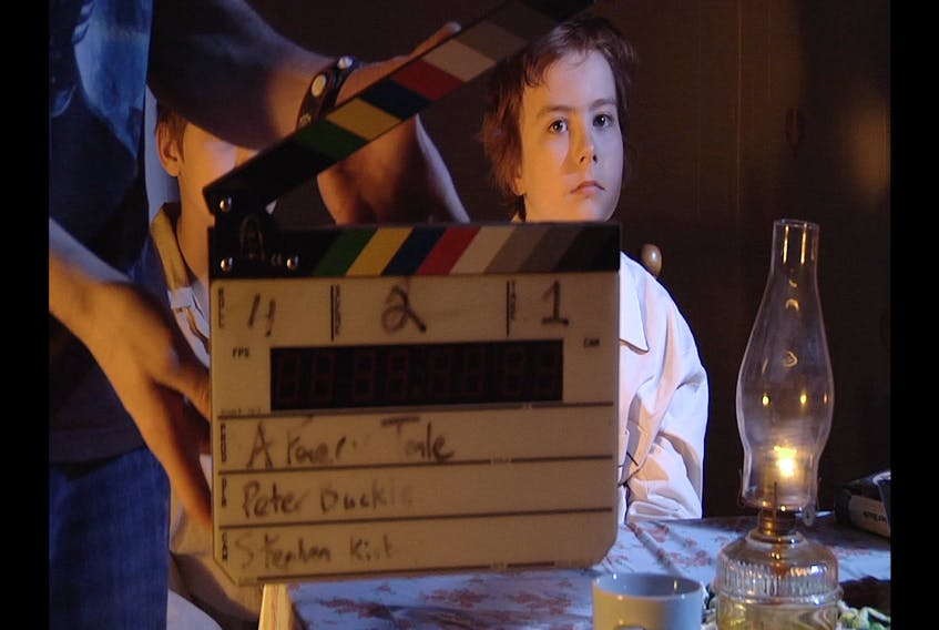 """Donovan Johnson of Corner Brook had an acting role in the College of the North Atlantic's 2012 digital filmmaking program's intersession film """"A Faery Tale."""" Johnson just graduated as a student in the course."""