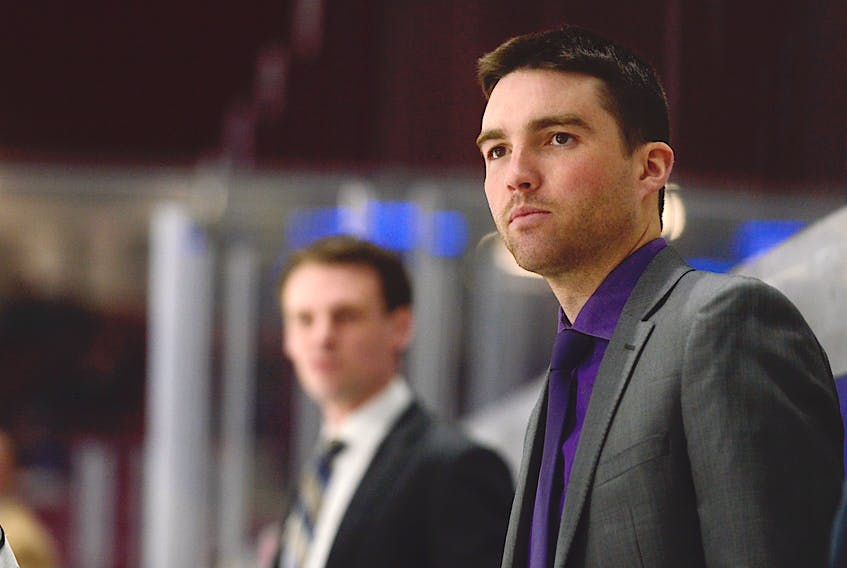 Nick Tremere is the new head coach of the Grand Falls Rapids of the Maritime Junior Hockey League.