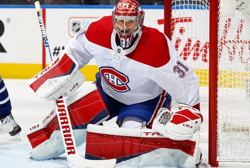 Montreal Canadiens goaltender Carey Price.