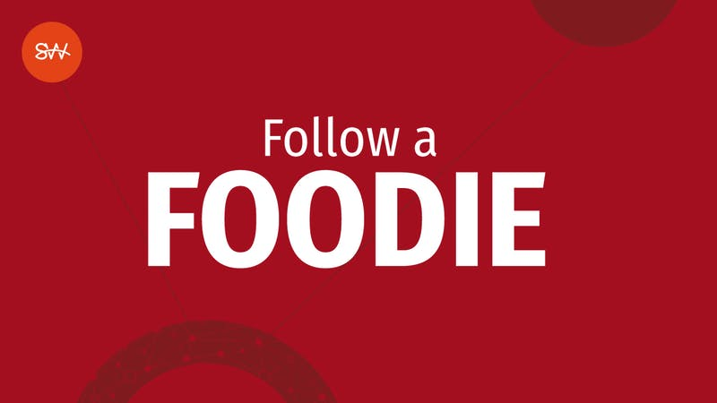 Newsletters Follow a Foodie