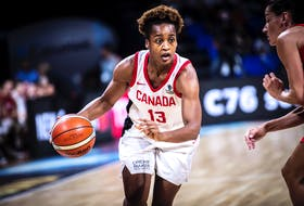Shay Colley, originally from North Preston, has been named to the Canadian Olympic women's basketball team that will compete in the Tokyo Games. - Basketball Canada