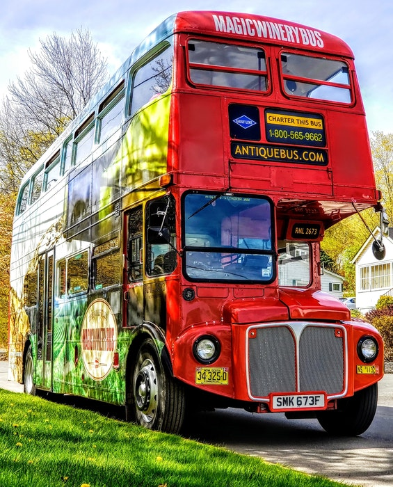 The Magic Winery Bus will pick you up at the Wolfville Visitor Information Centre, take you to five of the most popular wineries, then drop you safely back. - Contributed