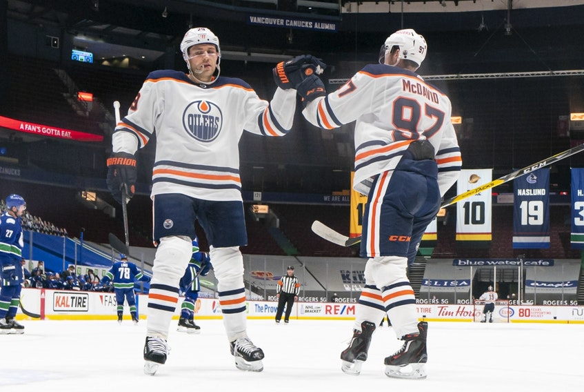 Leon Draisaitl and Connor McDavid were Nos. 1 and 2 among Oilers fans who voted for who they'd keep on the team if they were The Boss.