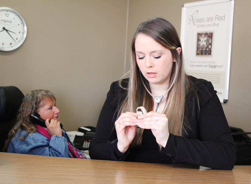 Suzanne Boone says her Audiologist, Michelle Edwards (pictured), listened closely as she described her situation and worked with her to find the right solution. - Photo Contributed.