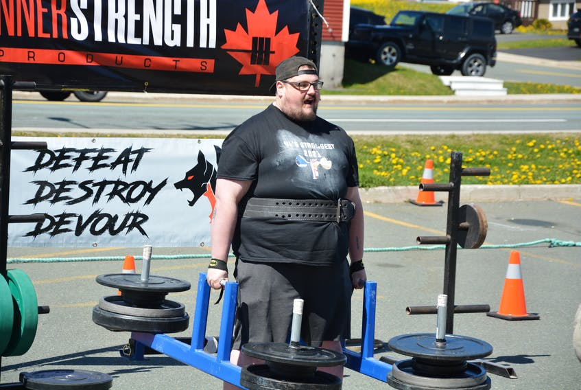 Bay de Verde native Kyle Riggs is feeling healthier since he started at True Strength Inc. in Paradise and taking part in strongman competitions.