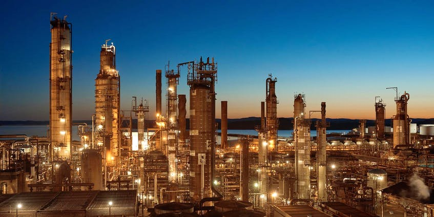 The oil refinery at Come By Chance.  - SaltWire File Photo