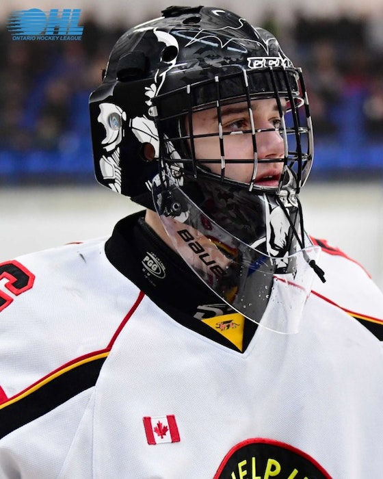 Dixon Grimes, son of Cape Breton Eagles head coach Jake Grimes, has signed a standard player agreement with the OHL's Guelph Storm. CONTRIBUTED
