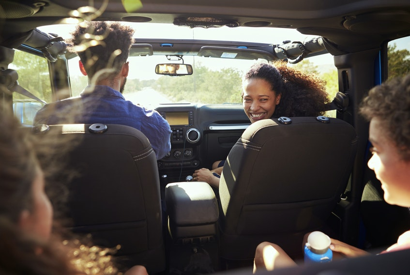 A recent poll showed 67 per cent of those planning a road trip will only be gone for the day, while 35 per cent will travel between four and six hours away from home. 123rf stock photo