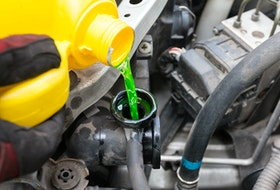 The main environmental problem with engine coolant is it smells and tastes slightly sweet, and comes in bright colours, making it attractive to a variety of species it could prove harmful to. 123rf stock photo