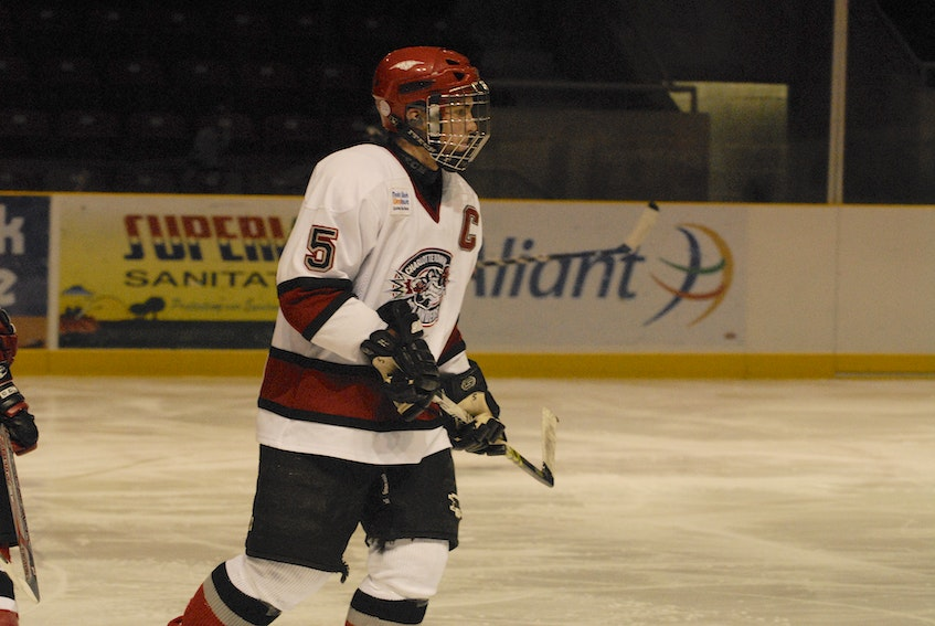 Nicholas Tremere served as captain of the Charlottetown Islanders (now Knights) major under-18 team during the 2007-08 season. Tremere played three years in the Maritime Junior Hockey League (MHL) with the Woodstock Slammers (now Grand Falls Rapids). He is now Grand Falls head coach. - Jason Simmonds