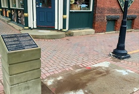 The city removed the statue of John A. Macdonald from the corner of Queen and Richmond streets in Charlottetown in the early morning of June 1.