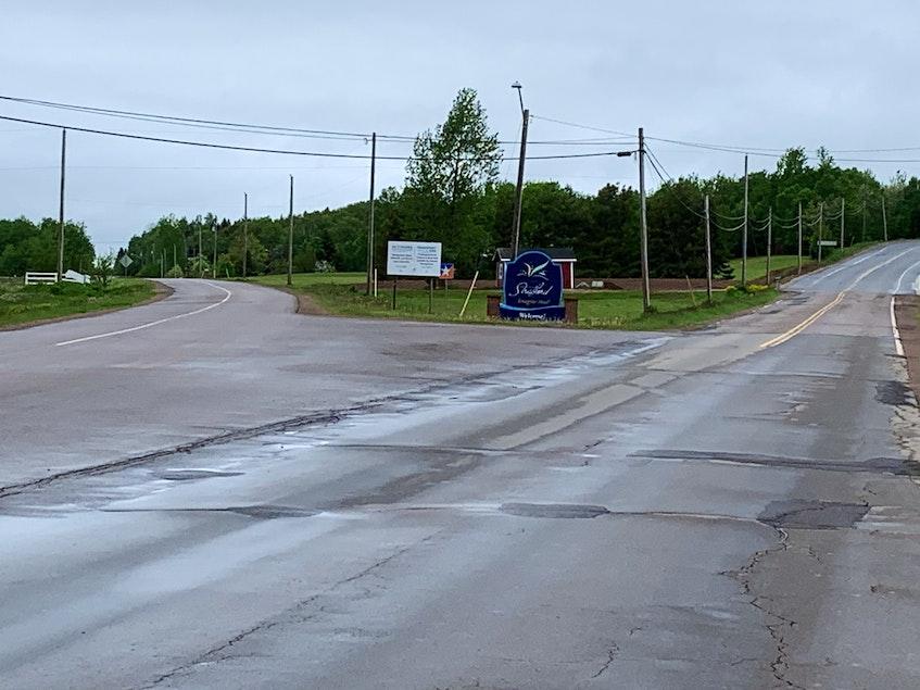 The 2.35-kilometre Keppoch Road multi-purpose path will end near the Keppoch/Georgetown roads intersection in Stratford. - Terrence McEachern