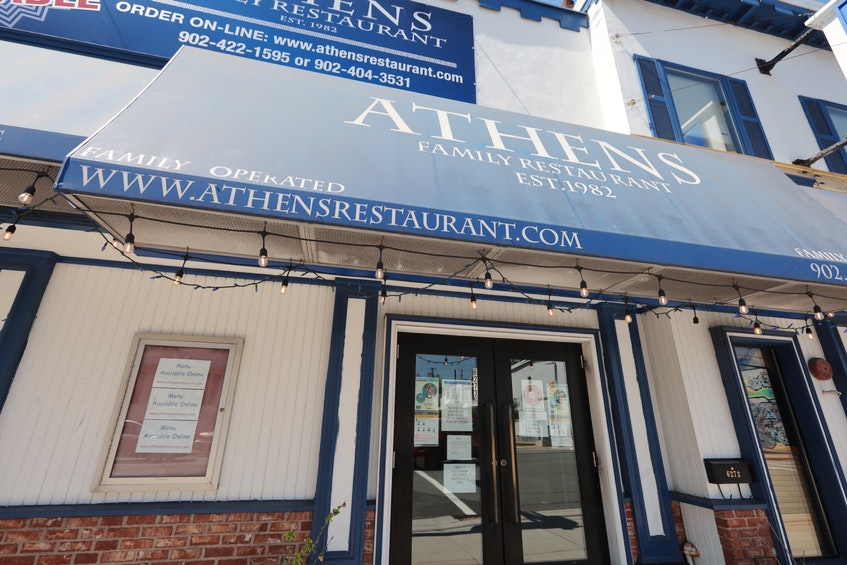 People are lamenting the fact the popular Greek restaurant Athens on Quinpool is closing. The popular eat spot opened up in 1982. Owners have said this is the last summer. - ERIC WYNNE/CHRONICLE HERALD
