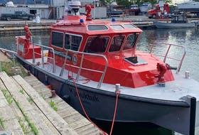 The Halifax fireboat Kjipuktuk is expected to arrive in Halifax next Thursday. - Halifax Fire