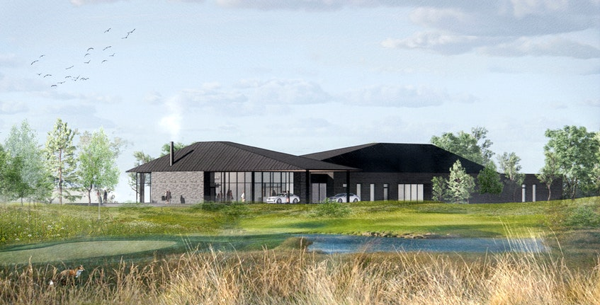 An artist's rendering of the Joyce Centre at Fox Harb'r Resort. - Contributed
