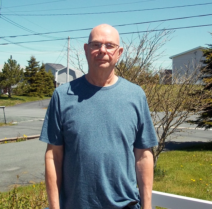 Paradise, NL resident Dave Reid got sick with Lyme disease while on a road trip with his wife. He was bitten by a tick while taking his dog for a walk during a pit stop. Luckily, his wife did research and his doctor ordered tests, so he was quickly diagnosed. to Nova Scotia after being bitten while taking the dogs for a walk during a stop. - Contributed