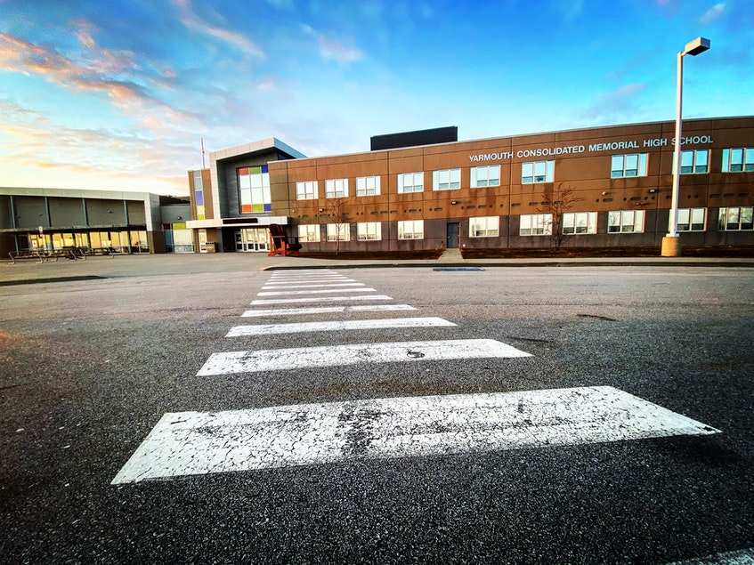 An empty Yarmouth Consolidated Memorial High School became full once again last week with the province's decision to send students back to class after all for the remainder of the school year. TINA COMEAU • TRICOUNTY VANGUARD