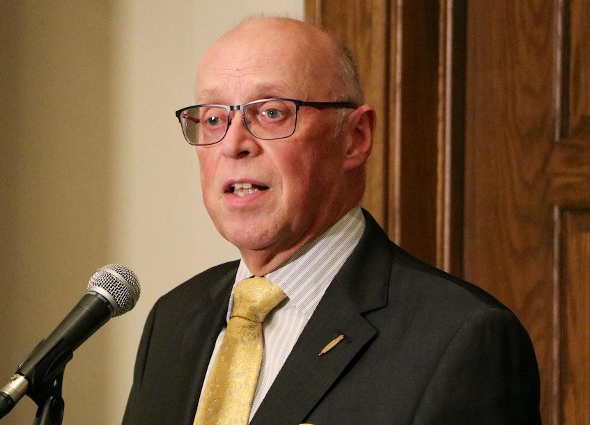 Health Minister Dr. John Haggie. - Glen Whiffen