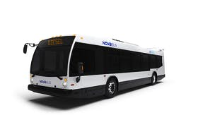 CBRM spokesperson Christina Lamey says a new Novabus diesel with the capacity to hold 80 passengers is being considered for Transit Cape Breton as part of new funding from the province for community public transit. CONTRIBUTED