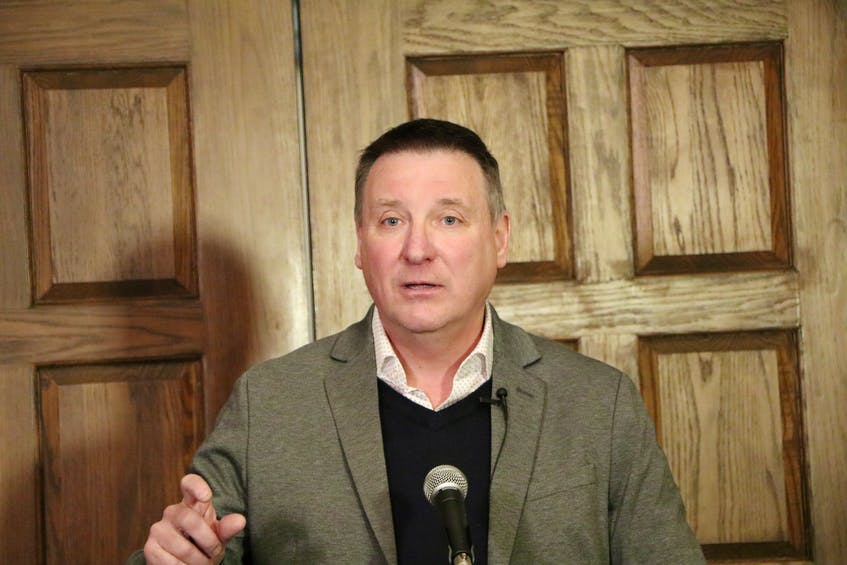 PC Leader David Brazil — File/Glen Whiffen