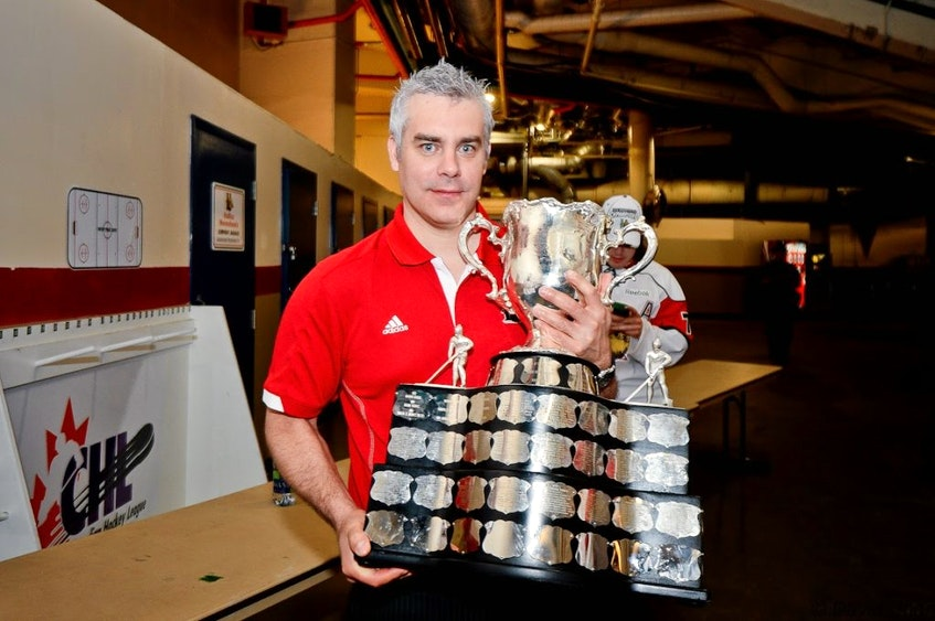 Dominique Ducharme won with the Memorial Cup as head coach of the Halifax Mooseheads in 2013. - Contributed